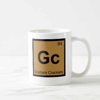 Gc - Graham Crackers Chemistry Periodic Table Coffee Mug