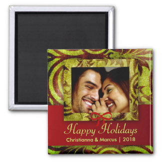 GC | Happy Holidays Magnet