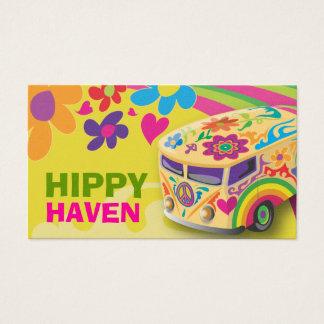GC Hippy Peace Bus Business Card