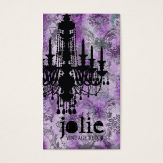 GC | Jolie Chandelier Pink Gray Damask