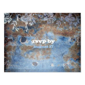 GC | Lusciously Rustic RSVP Card