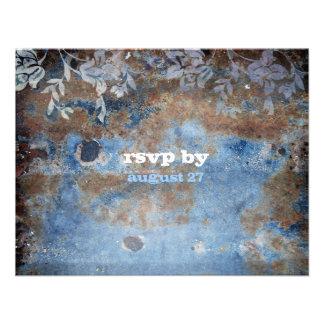 GC | Lusciously Rustic RSVP Custom Invitation
