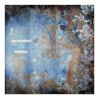 GC | Lusciously Rustic w/flowers MetallicPaper Card