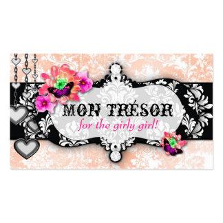 GC   Mon Trésor Hot Peaches n Cream Business Card