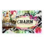 GC | Shabby Vintage Charm Black Damask