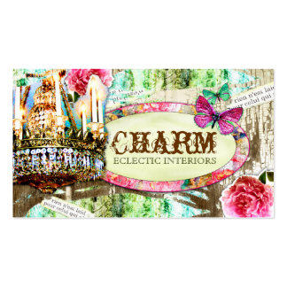 GC | Shabby Vintage Charm Chipped Paint Pack Of Standard Business Cards