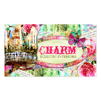 GC | Shabby Vintage Charm Pack Of Standard Business Cards