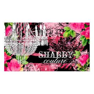 GC Shabby Wild Garden Chandelier Business Card