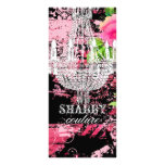 GC Shabby Wild Garden Couture Chandelier Full Color Rack Card