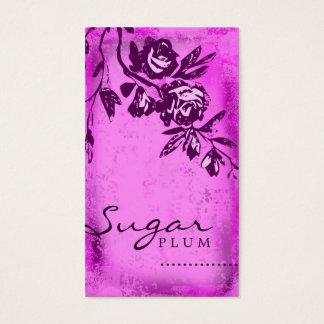 GC | Sugar Plum Rose Business Card