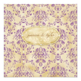 GC Sweet Cookie Invitation Plum