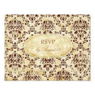 GC | Sweet Cookie RSVP | Chocolate Truffle Card