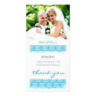 GC | Sweet Ocean Print Thank You Picture Card