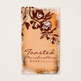 GC | Toasted Marshmellow Rose Business Card