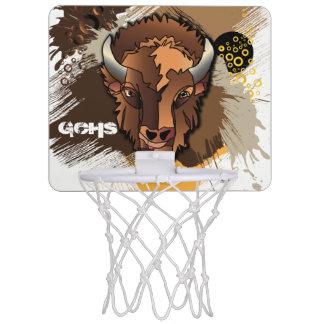 GCHS Buffalo Mini Basketball Hoop