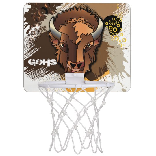 GCHS Buffalo Mini Basketball Hoop
