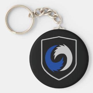 "GCWX 2.25"" Basic Button Keychain"