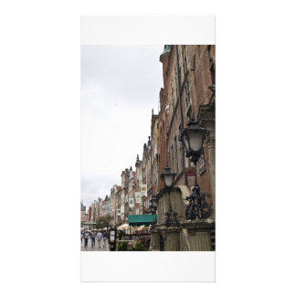 Gdansk Customized Photo Card