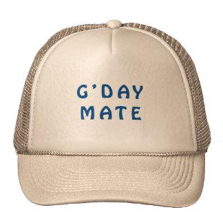 Gday Mate Blue Cap