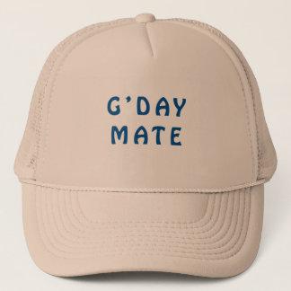 Gday Mate Blue Trucker Hat