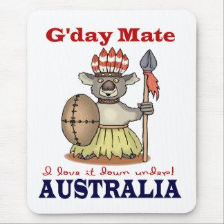 G'Day Mate Koala Mouse Pad