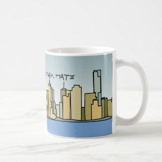 G'day Mate!  Melbourne Skyline Mug