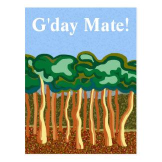 G'day Mate Postcard