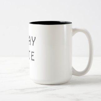 G'DAY MATE Two-Tone COFFEE MUG