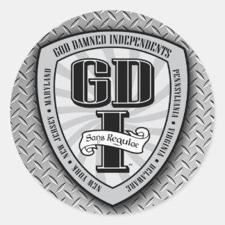 GDI Jumbo Stickers