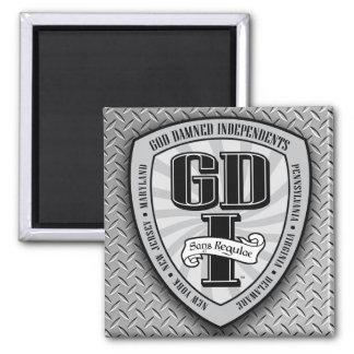 GDI Square Magnet 1