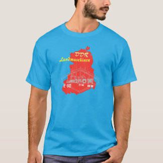 GDR advertising Design agricultural machinery T-Shirt