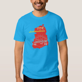 GDR advertising Design agricultural machinery Tshirts