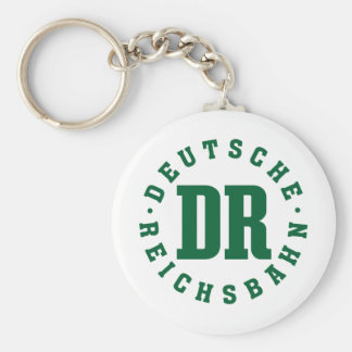 GDR/GDR Railway - German National Railroad Sign Key Ring