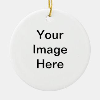 GE donation article arranged individual Ceramic Ornament