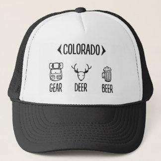 Gear, Deer, Beer Colorado Trucker Hat