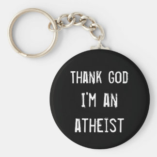 Gear for Atheist Key Ring