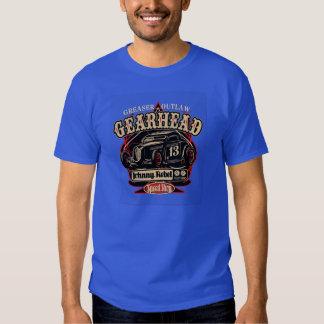 GEAR HEAD HOTROD COUPE TEE SHIRTS