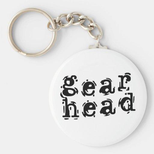 Gear Head Key Chains