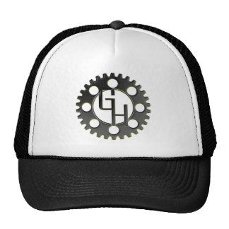 Gear Head Logo Cap Hat