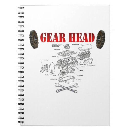 GEAR HEAD NOTEBOOK