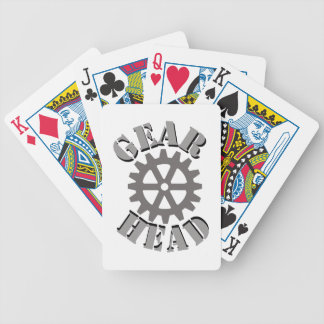 Gear Head Playing Cards