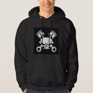 Gear Head Skull and Pistons TDC Hoodie