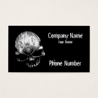Gear Head Skull Business Card
