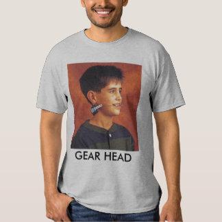 GEAR HEAD TEE SHIRTS