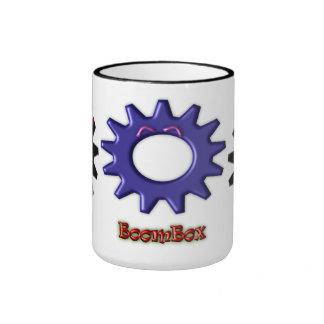 Gear Heads BoomBox Ringer Coffee Mug