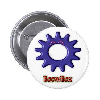 Gear Heads BoomBox Pin