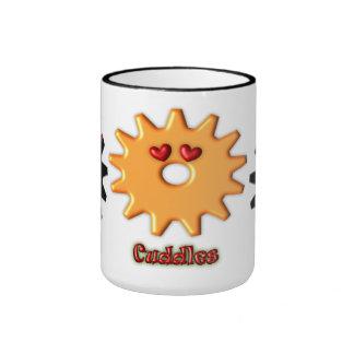 Gear Heads Cuddles Ringer Coffee Mug