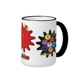 Gear Heads Sunshine Ringer Coffee Mug