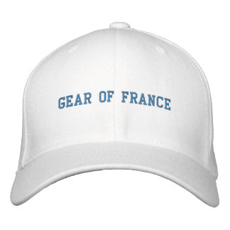 GEAR OF FRANCE EMBROIDERED HAT