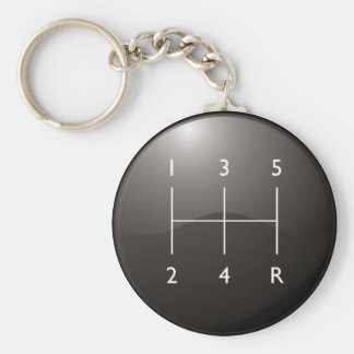 Gear Shifter Key Ring